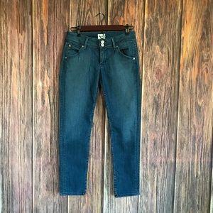 Hudson Skinny Crop Jeans